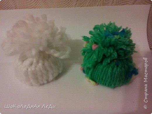 Сегодня я сделала по мк Лилии шапочки для кукол  фото 5