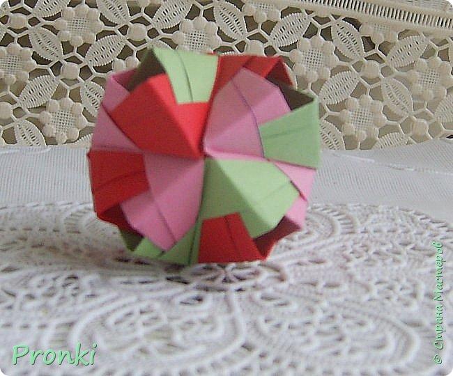 """В процессе занятий на курсах """"Ателье бумажной игрушки"""" познакомилась с техникой модульного оригами. И так меня затянуло, что никак не могу остановиться. Вот что пока получилось. фото 8"""