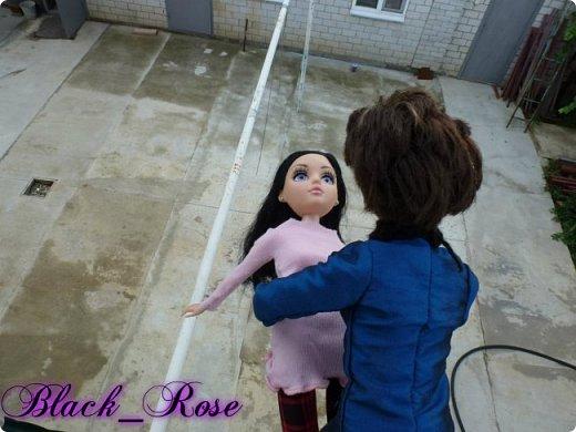 -Блин, опять вышли прогуляться в самый дождь -За-то я взяла зонтик:) фото 11