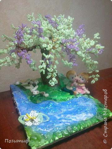 Деревья бисер фото 6