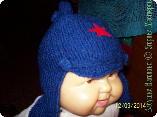 вот такая шапуля для внука