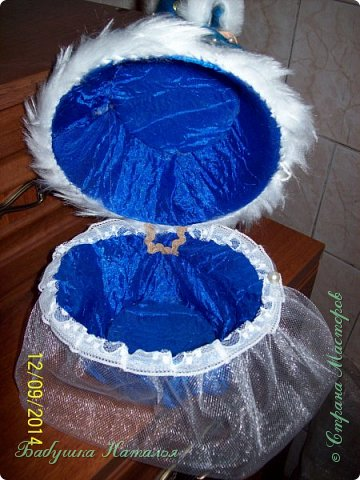 снегурочка-шкатулочка фото 6