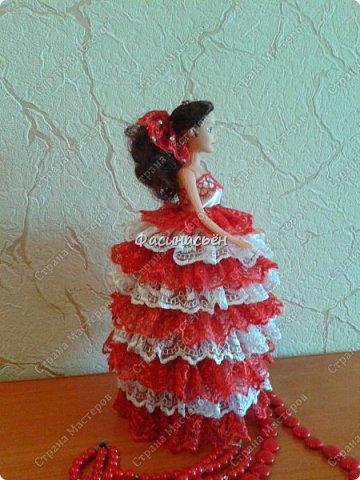 Эту куколку делала на заказ.Учла ошибки,которые были в первой куколке,получилось в нутри намного лучше. фото 3