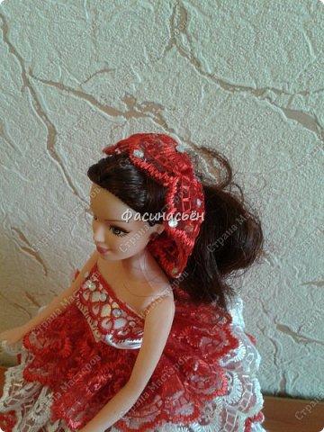 Эту куколку делала на заказ.Учла ошибки,которые были в первой куколке,получилось в нутри намного лучше. фото 6