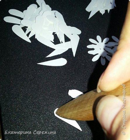 Мастер-класс Флористика искусственная Бумагопластика Моделирование конструирование Хризантема из бумаги Бумага фото 4