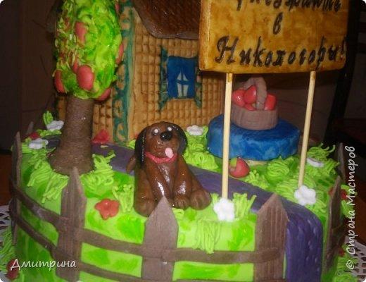 Здравствуй, Страна! Налепила тортиков, решила похвастаться. Заказчикам понравилось.  Торт с цветами. Вес 2,2 кг. Внутри рафаэлло. фото 7
