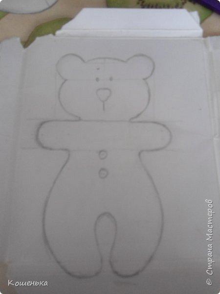Добрый вечер, дорогие мастерицы! Предлагаю Вашему вниманию обещанный мастер-класс по изготовлению медвежонка из фетра. фото 3
