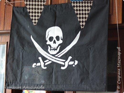 На шестой День Рождения сына решили устроить пиратскую вечеринку. Так как такой праздник организовывала впервые, готовиться начала заранее и очень за долго, но все равно не все задуманное успела воплотить. Идеи собирались по всему простору Интернета.  Вот кое-что из того что вышло... фото 12