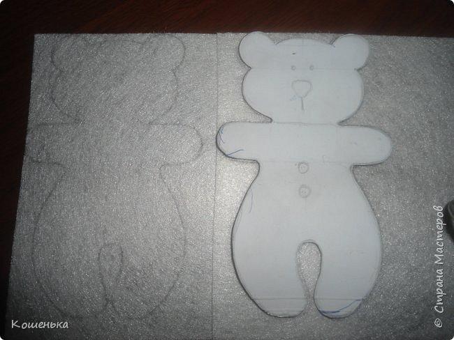 Добрый вечер, дорогие мастерицы! Предлагаю Вашему вниманию обещанный мастер-класс по изготовлению медвежонка из фетра. фото 4