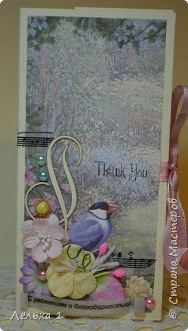 """Всем приветик! Я сегодня со своими первыми шоколадницами, (заказали для воспитателей в детский сад). Использовала набор бумаги mr. Painter 15*15"""" Лесные сказки"""",  цветочки, подвески, чипборд и т.д. Много писать не буду, итак все видно. фото 10"""