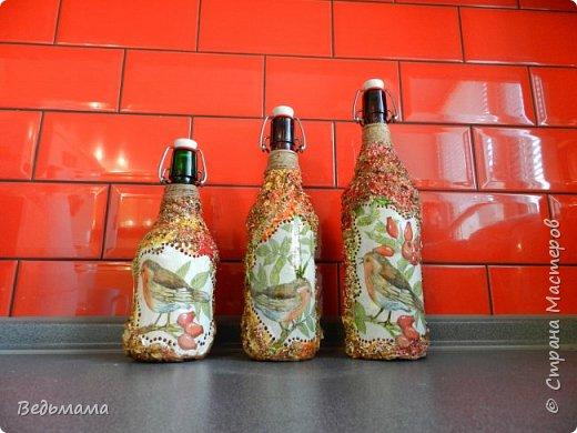 вот такие бутылочки сделала для вина из крыжовника! Спасбо мастерклассу https://stranamasterov.ru/node/446767?c=favorite фото 1
