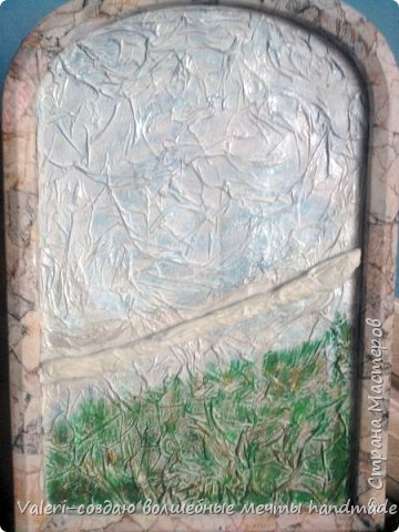 Картина панно рисунок Аппликация Ассамбляж Моделирование конструирование Шитьё Павлин-джутовая филигрань и   Бумага Бутылки пластиковые Клей Краска Материал бросовый Проволока Ткань Шпагат фото 9