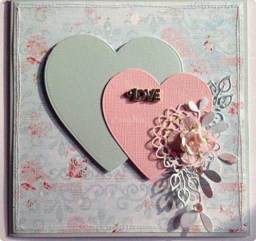 Все чаще я стала делать свадебные открытки:)  фото 1