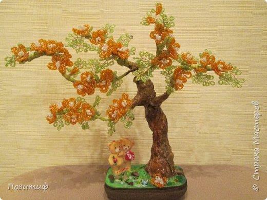 Деревья бисер фото 5
