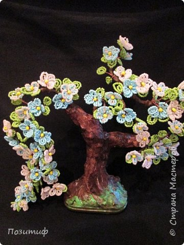 Деревья бисер фото 4