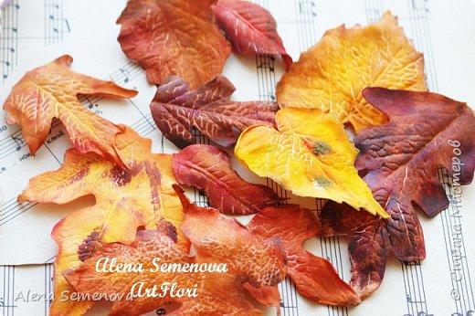 Осень — это вторая весна, когда каждый лист — цветок.  Альбер Камю.  Мой новый мастер-класс по изготовлению осенних листьев из фоамирана. фото 1