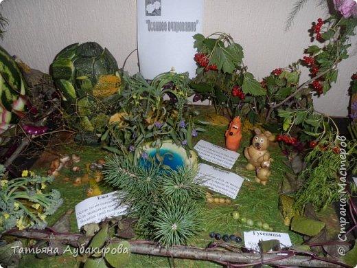 """Сегодня у нас проходил ежегодный конкурс """" Осенние фантазии"""", вот наши работы. Мышка и сова. фото 2"""