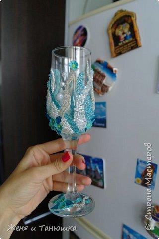 Бутылочки, бокальчики свадебные. фото 3