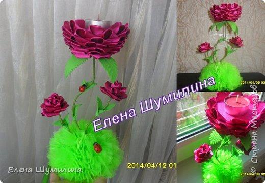 подсвечник в черно-белом цвете фото 4