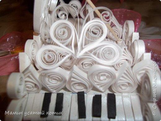 """Привет СМ!) скоро День рождения моей троюродной сестры) Недавно она увидела мой предыдущий рояль и очень захотела похожий. Я же сказал, что больше я за это не возьмусь. Она поверила, ха (!), наивная.. Вот """"плод"""" моего труда:) фото 3"""