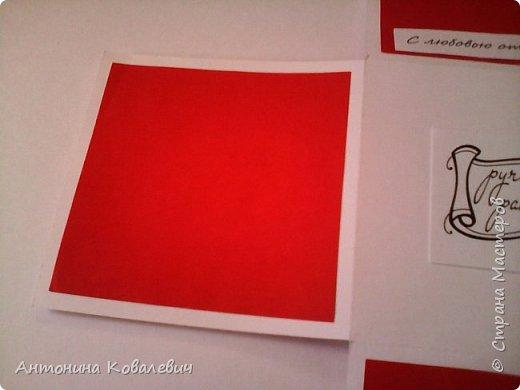 Вот такая вот коробочка. Любимый цвет невесты красный, поэтому и сама коробочка красная. Думала сегодня уже не выложу, но успела. Это моя первая шкатулочка) Фото очень много!!! фото 15
