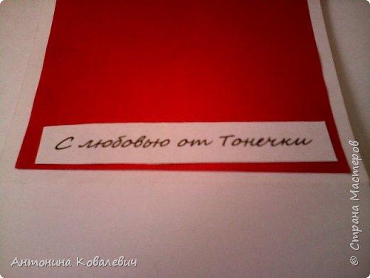 Вот такая вот коробочка. Любимый цвет невесты красный, поэтому и сама коробочка красная. Думала сегодня уже не выложу, но успела. Это моя первая шкатулочка) Фото очень много!!! фото 16