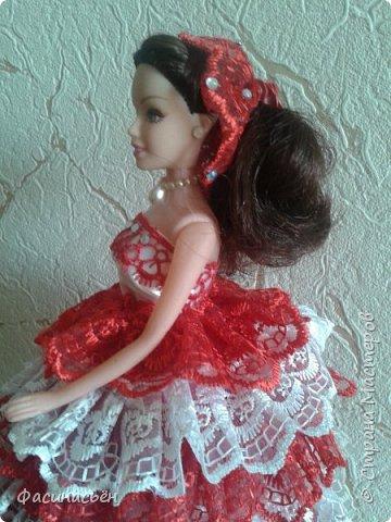Эту куколку делала на заказ.Учла ошибки,которые были в первой куколке,получилось в нутри намного лучше. фото 5
