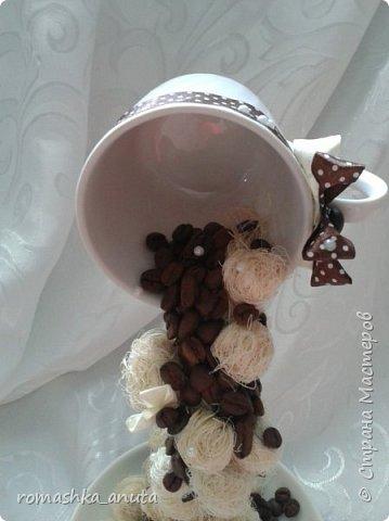 Здравствуйте жители нашей огромной страны!Хочу показать вам мои первые и пока единственные парящие чашки.Эту чашку я делала своей любимой мамуле,ей очень понравилась она. фото 11