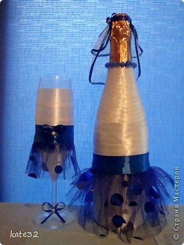 30 июля мой старший брат наконец-то женился) Свадьба была в синем цвете. Так и родился этот набор) фото 4