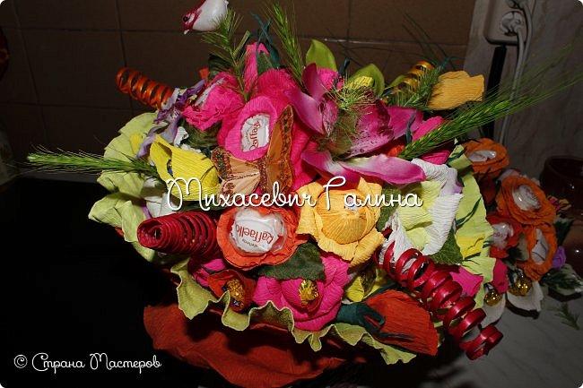 Сегодня у меня две работы! букет для сына на первое сентября,а композиция для очень хорошего человечка у которого я покупаю свои любимые цветы и добавки для моих творений фото 6