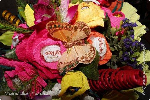 Сегодня у меня две работы! букет для сына на первое сентября,а композиция для очень хорошего человечка у которого я покупаю свои любимые цветы и добавки для моих творений фото 12