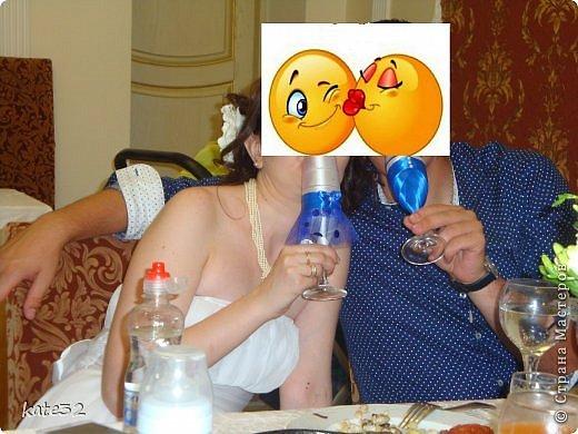 30 июля мой старший брат наконец-то женился) Свадьба была в синем цвете. Так и родился этот набор) фото 7