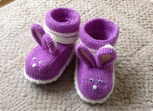 Носочки для крольчонка фото 4