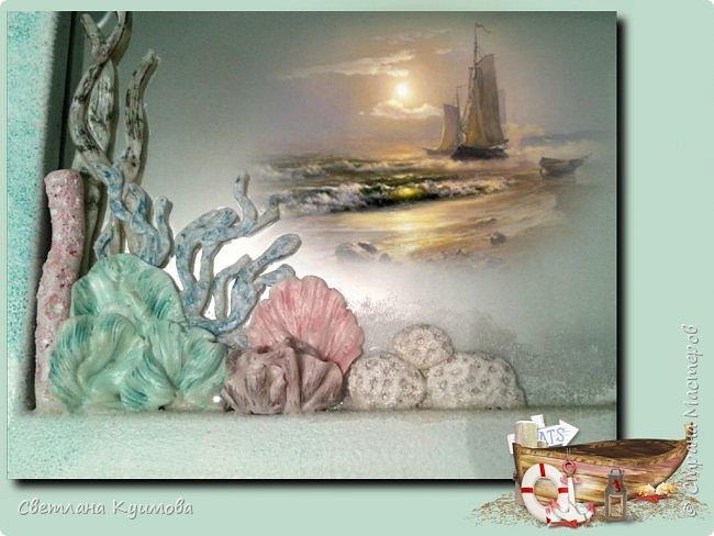 """Как поется в известной песне: """"Море..море..""""  Теперь в нашей ванной комнате есть кусочек моря, точнее маленький коралловый риф. фото 5"""