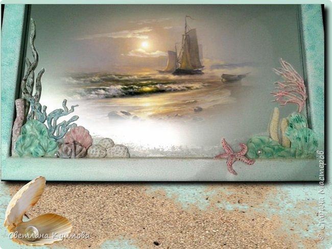 """Как поется в известной песне: """"Море..море..""""  Теперь в нашей ванной комнате есть кусочек моря, точнее маленький коралловый риф. фото 2"""