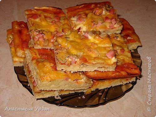Сегодня мы приготовим пиццу из СЛОЁНОГО теста. фото 1