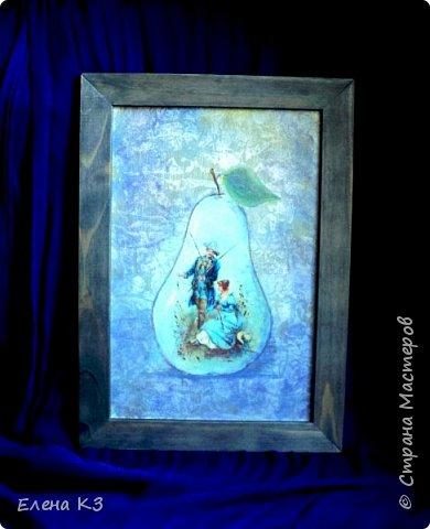Декор предметов Картина панно рисунок Декупаж Силуэтный декупаж и эбеновое дерево фото 2