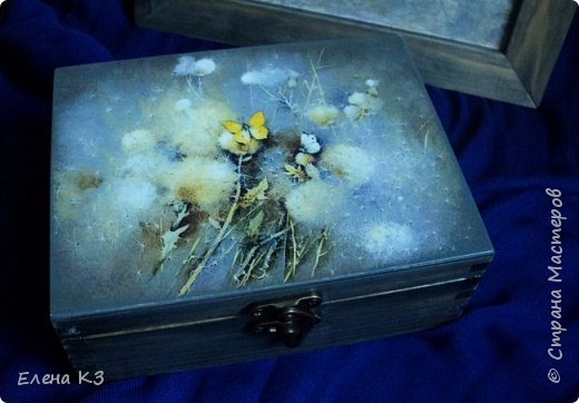 Декор предметов Картина панно рисунок Декупаж Силуэтный декупаж и эбеновое дерево фото 5