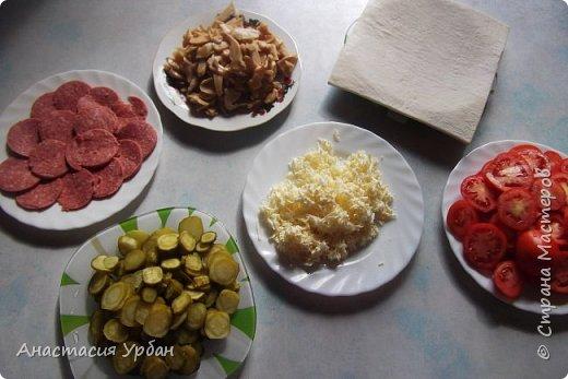 Сегодня мы приготовим пиццу из СЛОЁНОГО теста. фото 2