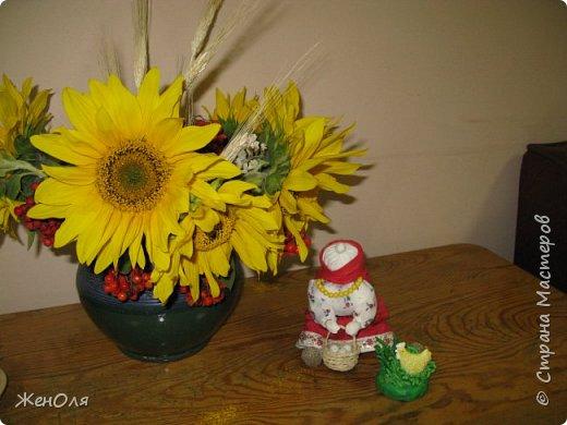 Так я решила оформить в саду выставку посвящённую осени ,скоро будут размещены детские поделки фото 5