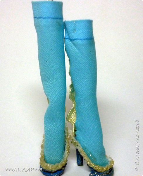 Голубое платьице и сапожки - вот новый комплектик для Джеки)ну и конечно сразу же фотосессия) фото 17