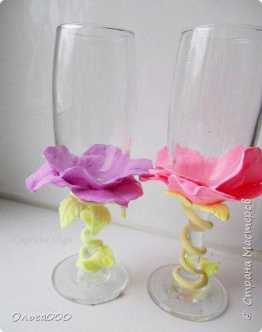Цветочные бокальчики фото 4