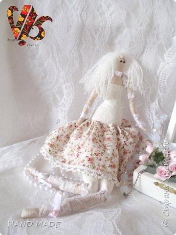 Ой) понравилось мне шить, я вам скажу)))долго не решалась сшить куклу Тильду) и вот, под вдохновением родилась буквально за вечер))))(если можно так сказать конечно же))) фото 3