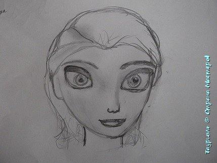 """Давненько я ничего не выкладывала!Пора исправляться. Мои рисунки за последнее время: """"Живая вселенная""""фломастеры, и масляная пастель. А4.  фото 5"""