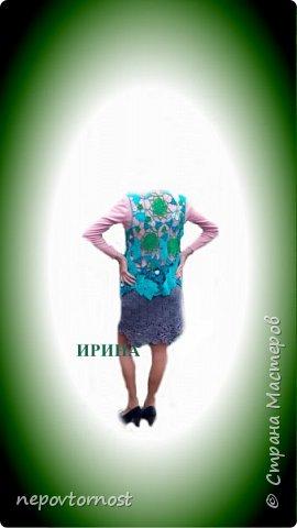 "Жилет ""Весна"" и юбочка ирландка фото 1"