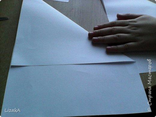 """Привет всем,кто заглянул ко мне в гости! :) Это мой 1 блог)) Однажды на одной сайте(не помню на каком) я увидела:""""Как сделать цветок из бумаги?"""" Делается в технике оригами,только нам понадобятся ножницы :) фото 2"""
