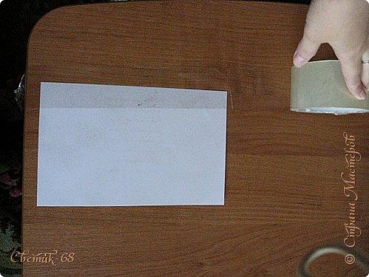 Мастер-класс Материалы и инструменты День рождения Декупаж Отслаивание офисной бумаги с помощью скотча мк Бумага фото 3