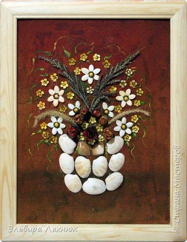 Декоративное панно из природных материалов