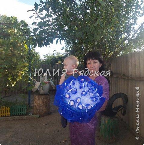 Вот такой синий))) букетик))) фото 3