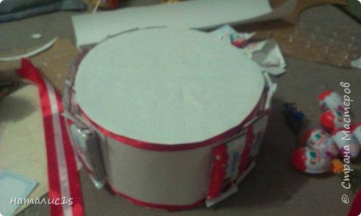 Делала тортик на день рождения девочки. за основу взяла вырезала из коробок 2 круга, фото 2